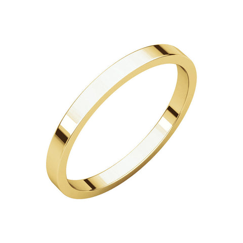 2mm Classic Band ring