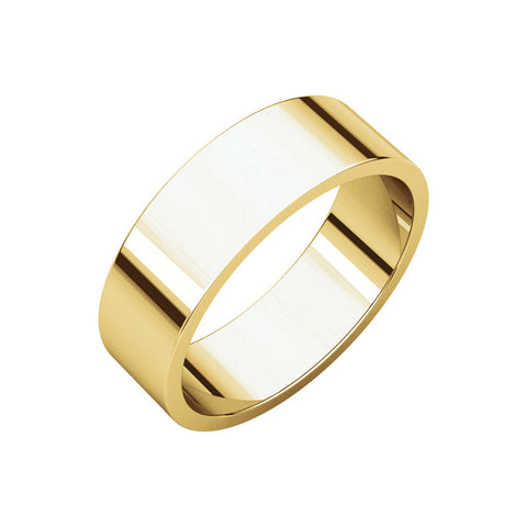 6mm Classic Band Ring