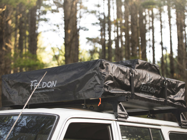 Crow's Nest Extended Rooftop Tent - Grey/Black (Available mid - late January)