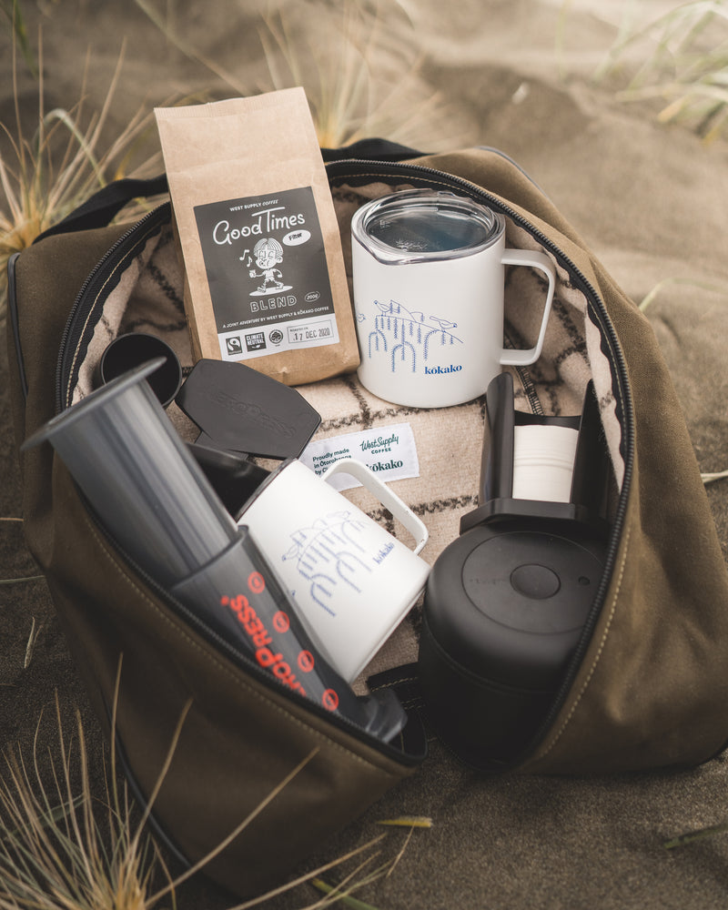 Camp Brew Kit - By West Supply Coffee & Kōkako