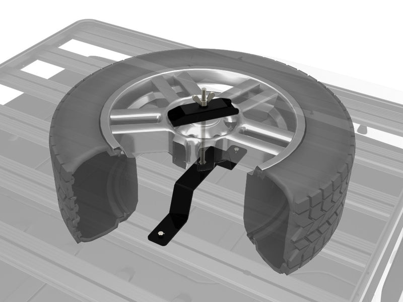 SPARE WHEEL CLAMP - BY FRONT RUNNER