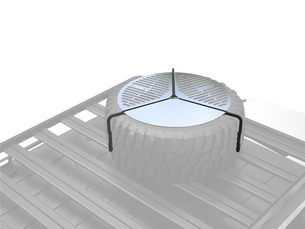 SPARE TIRE MOUNT BRAAI/BBQ GRATE - BY FRONT RUNNER