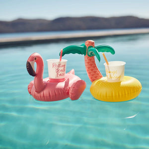 Inflatable Drink Holder Tropical