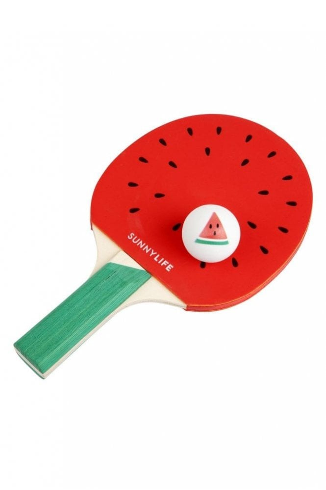 Ping Pong Play On Watermelon