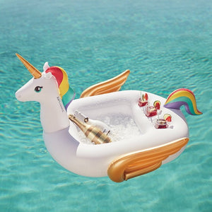 Inflatable Pool Bar Unicorn