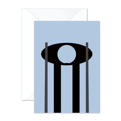 Mackintosh chair - blue