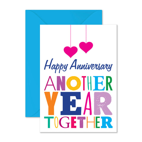 Anniversary: another year together