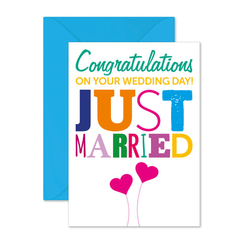 Congratulations: just married