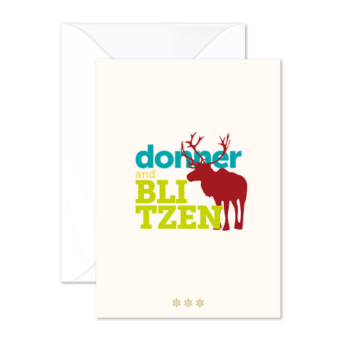 Donner and Blitzen