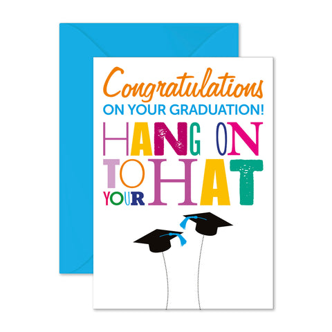 Graduation: hang on to your hat!