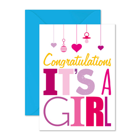 Congratulations: it's a girl!
