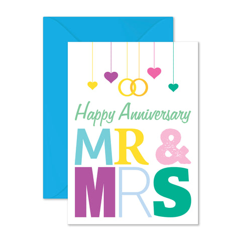 Anniversary: Mr & Mrs