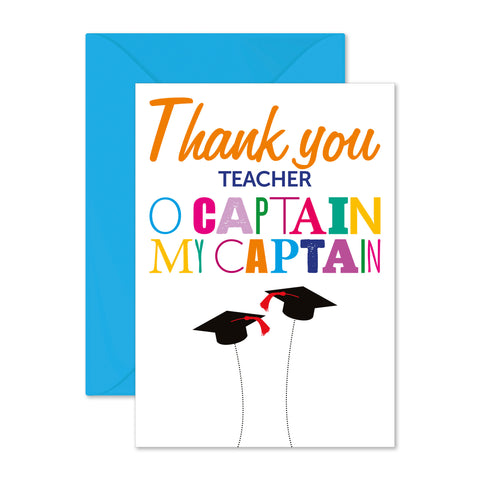 Thank you teacher: o captain my captain