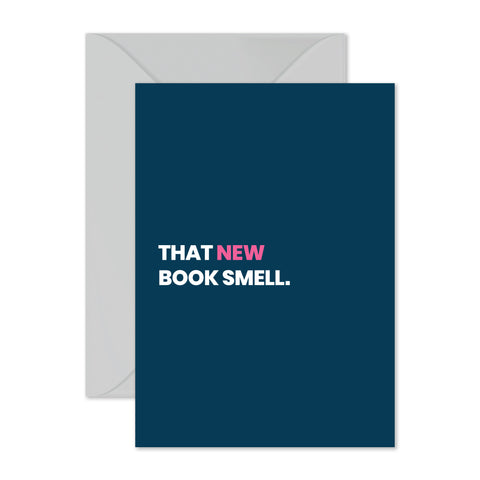 That New Book Smell