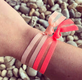 Grapefruit | Printed Popband Hair Bands | On-Wrist
