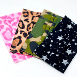 8 Patterned 3 Ply Non-Surgical Face Masks