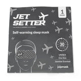 Jet Setter jasmine scented self-heating sleep mask (5 Pack) by Popmask