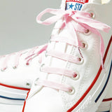 Baby Pink Poplaces | Shoe Laces | In-Shoe | Converse