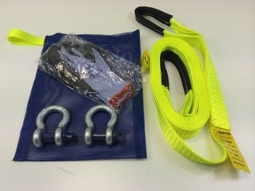 Tow Strap Kit And Dry Bag - Damar Webbing Solutions Ltd