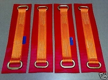 Wheel Link Straps ( Big Pads) - Damar Webbing Solutions Ltd