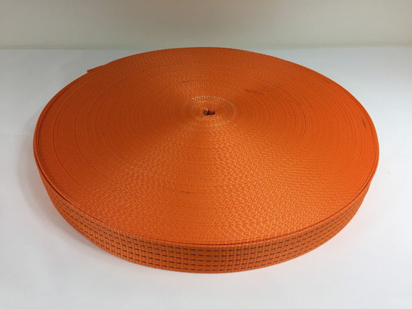 Webbing 50mm 5ton Orange - Damar Webbing Solutions Ltd
