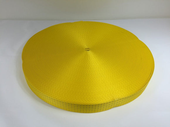 Webbing 50mm 5ton Yellow - Damar Webbing Solutions Ltd