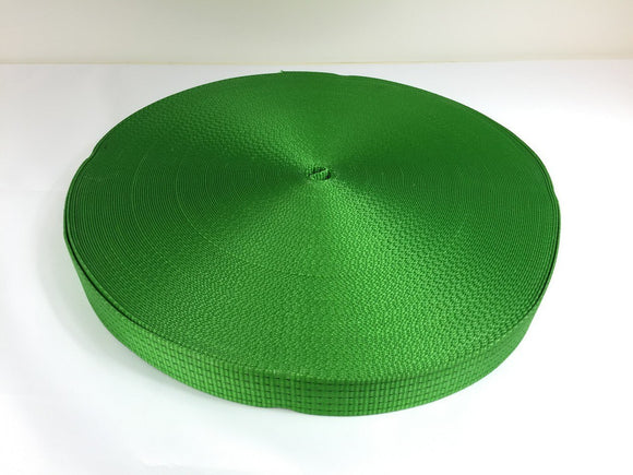 Webbing 50mm 5ton Green - Damar Webbing Solutions Ltd