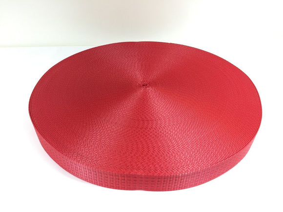 Webbing 50mm 5ton Red - Damar Webbing Solutions Ltd