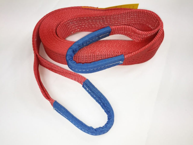 Tow Strap 5ton Heavy Duty 3mtr - Damar Webbing Solutions Ltd