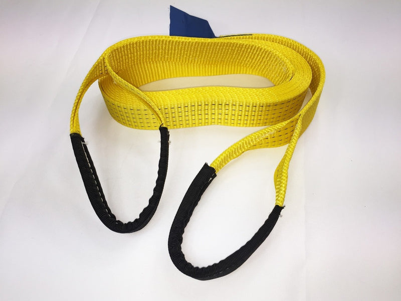 Tow Strap 5ton Heavy Duty 4mtr - Damar Webbing Solutions Ltd