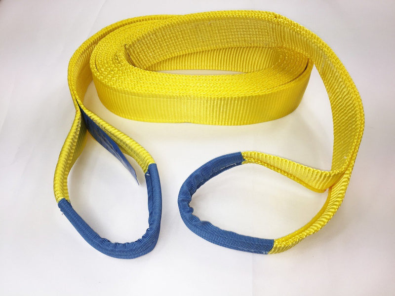 Tow Strap 21 Ton Heavy Duty 8mtr - Damar Webbing Solutions Ltd