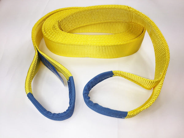 Tow Strap 21 Ton Heavy Duty 10mtr - Damar Webbing Solutions Ltd