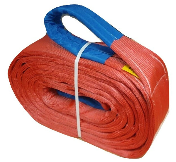 Tow strap 70 ton / 70,000 kgs Breakstrain Heavy Duty - Damar Webbing Solutions Ltd