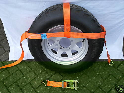 Transporter Dolly Straps x 2 - Damar Webbing Solutions Ltd