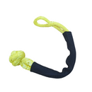 Soft shackle 8mm x 460mm YELLOW UHMWPE with 9384kgs MBL - Damar Webbing Solutions Ltd