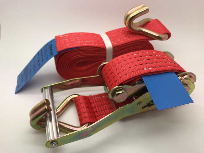 Ratchet Straps 5ton (5000kgs) x 50mm x 8mtr - Damar Webbing Solutions Ltd