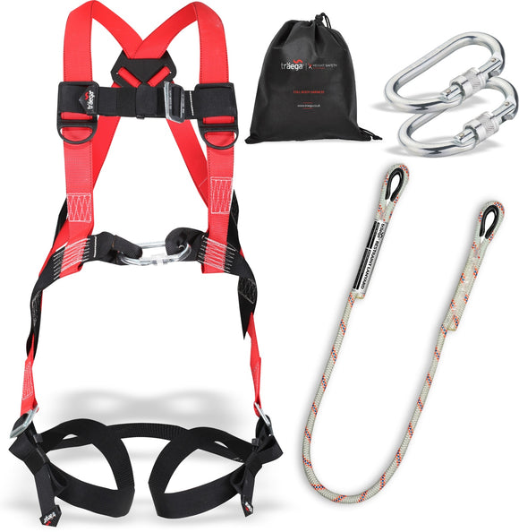 safety harness kit for cherry picker working at height - damar webbing  solutions ltd