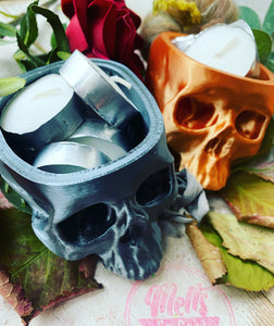 Skull Head Trinket Holder