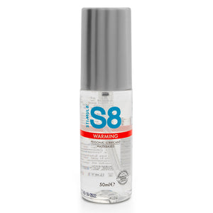 S8 Warming Water Based Lube 50ml