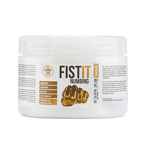 Fist It Numbing Water Based 500ml Lubricant