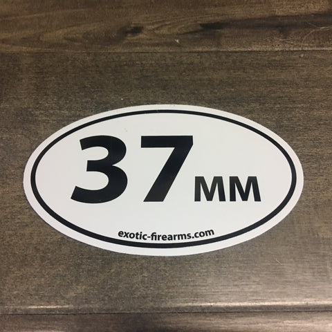 37MM Sticker