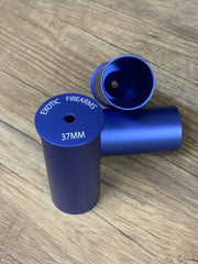 "Blue 37mm Limited edition Casing 3.5"" w/ Milled Bushing"