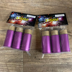 37MM Live Glitter and Shine Ammo in Purple Casings