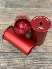 Limited Edition 37mm Aluminum Casing RED Anodized