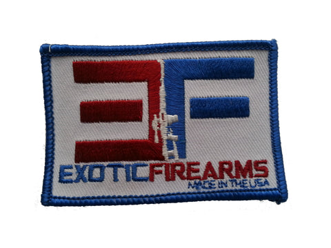 Exotic Firearms Patches
