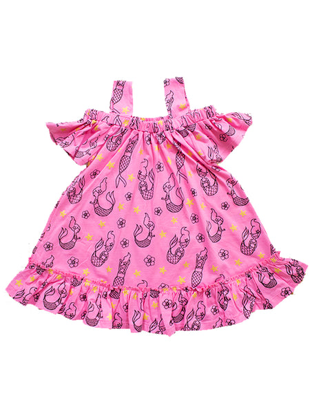 winnie dress watermelon mermaid