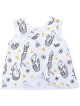 yoli tank white mermaids
