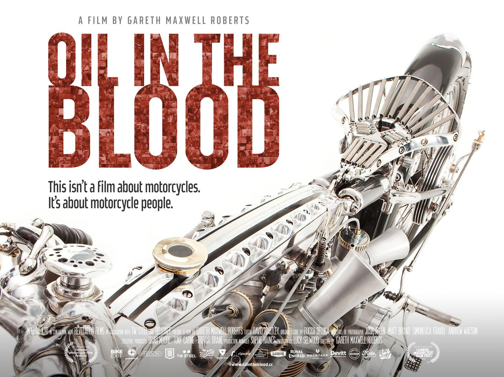 Oil in the Blood Plakat