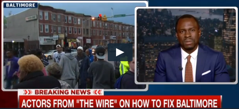 """The Wire"" Cast Discuss the Baltimore Unrest on ""Hardball with Chris Matthews on MSNBC"