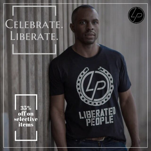 35% OFF these select Liberated People Gear!!!